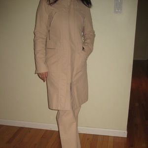 BCBG coat and pants set